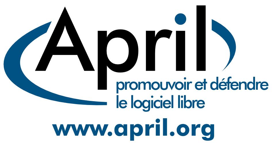 autocollant logo April