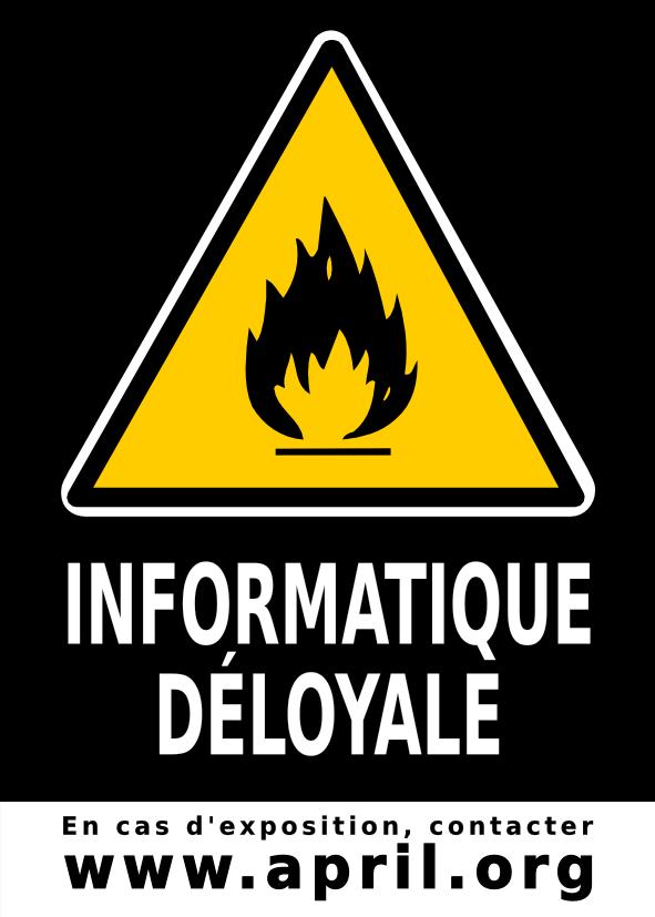L'informatique déloyale (trusted computing) permet de bloquer le fonctionnement des programmes qui ne sont pas autorisés par le fabricant