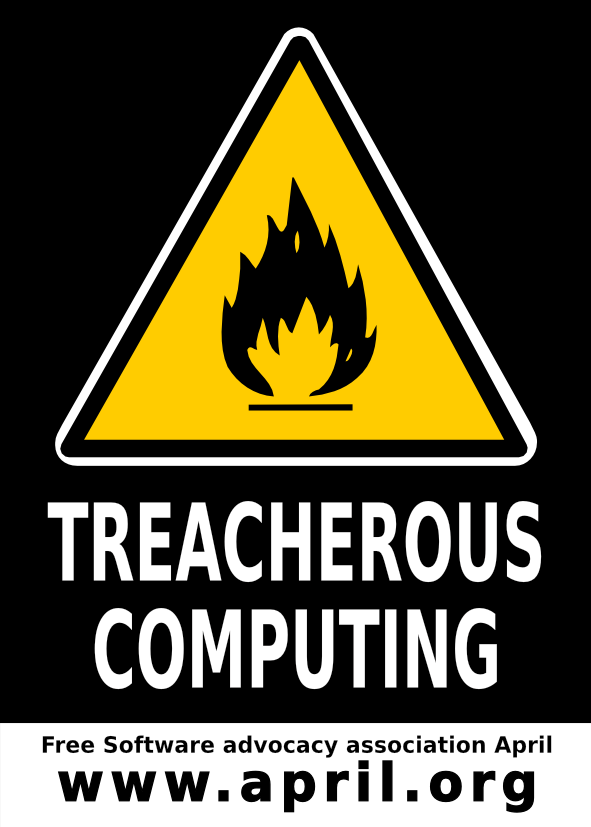 sticker treacherous computing