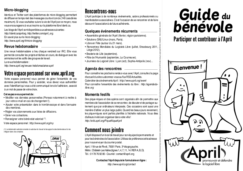 Guide du bnvole page 1