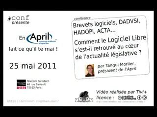 Conférence de Tangui Morlier à ParisTech